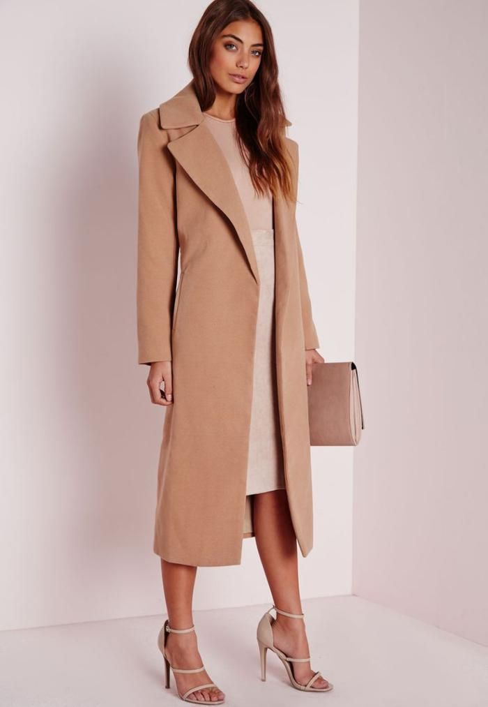 Damen Mantel Modelle In Karamell Farbe Damenmode Pinterest