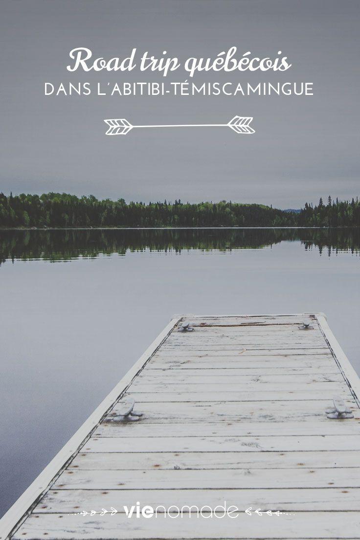 Découvrez le récapitulatif et l'itinéraire d'un road trip dans l'Abitibi-Témiscamingue au Québec, entre ville et nature, avec mille idées pour organiser le vôtre!