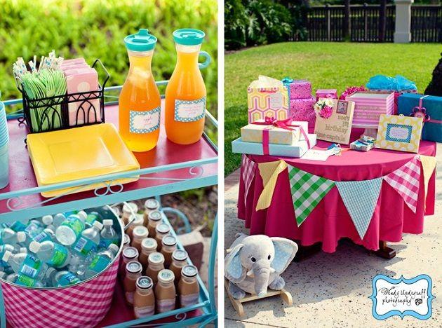 Little Miss Sunshine  1st Birthday Party Idea- Decorations