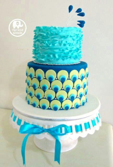 peacock cake for baby girl shower more baby shower cakes cakes peacock