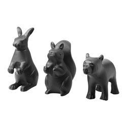 IKEA - RÖRD, Decoration, set of 3, Playful decorations that are perfect for giving your home that extra something, like setting a fun and different table.