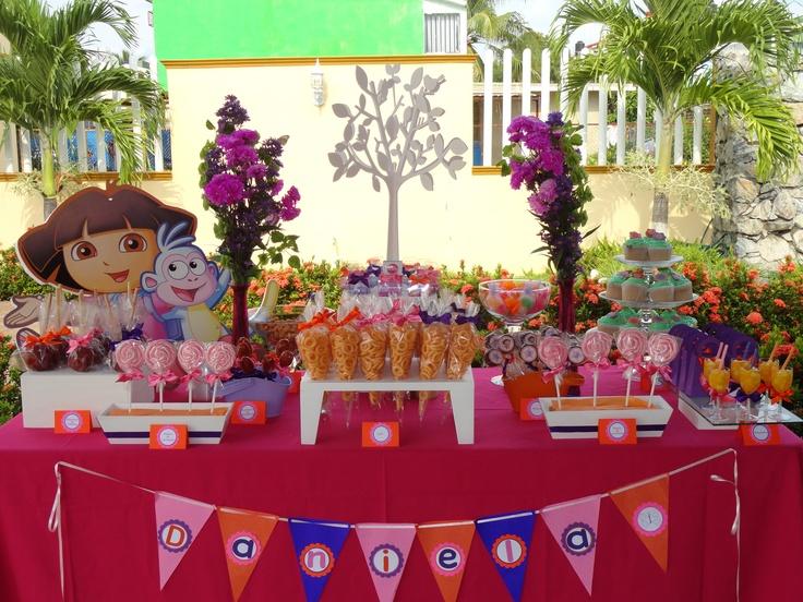 Mesas de dulces imagui - Decoracion mesas para fiestas ...