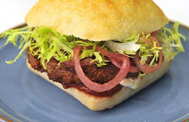 Vegetarian Walnut Burgers