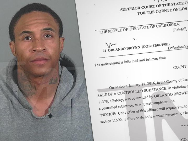 Ex-Disney star Orlando Brown pulled into a police station parking lot while arguing with his girlfriend and then allegedly struck her, while he…