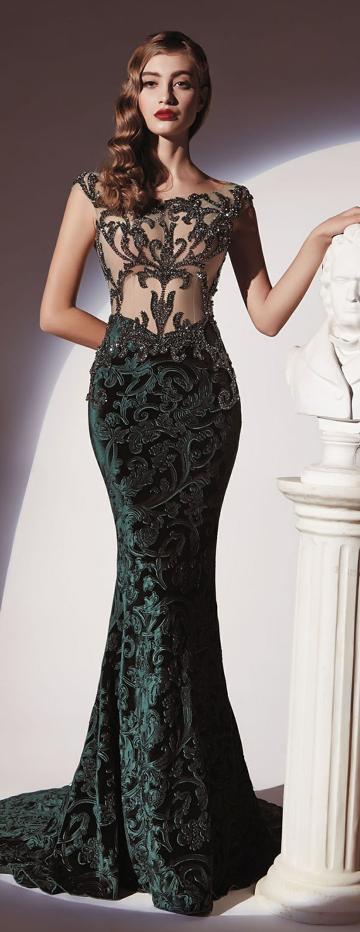 127 besten Long dresses Bilder auf Pinterest   Abendkleid, Lange ...