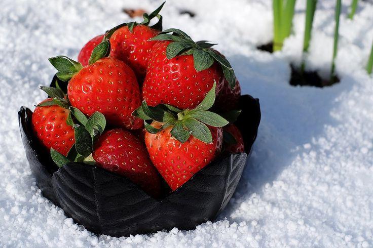 Las #fresas son frutas bajas en calorías, con alto poder antioxidante y se convierten en un antiinflamatorio natural. Son fuente de #vitaminas.