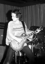 Paul Kossoff/Free: A 1959 Gibson Les Paul Standard with sunburst finish owned by Paul Kossoff, 1970-1976,