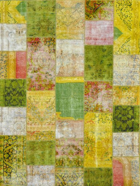 Overdyed Patchwork