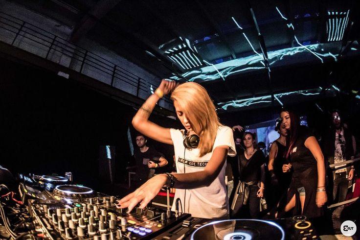Nusha - Girls Love Techno - BlackOut Timisoara