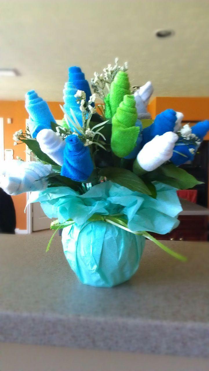 20 best images about Sock bouquet on Pinterest