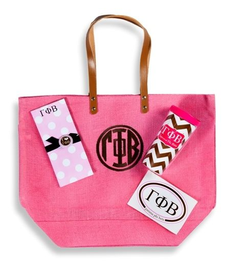 Gamma Pi Beta Bid Day Pkg #1. www.sassysorority.com