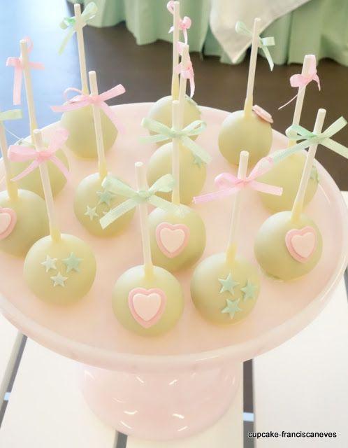 Cupcake: Hearts and stars!
