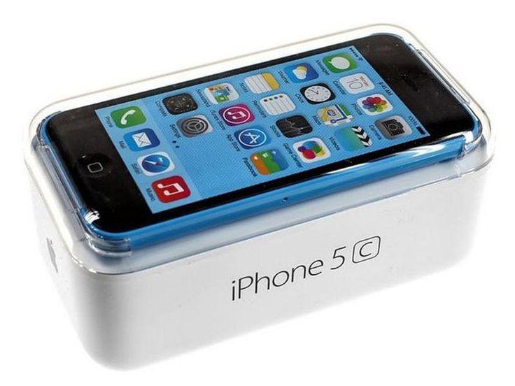 Apple iPhone 5c - 16GB - Blue (Unlocked) Smartphone #Apple #Bar
