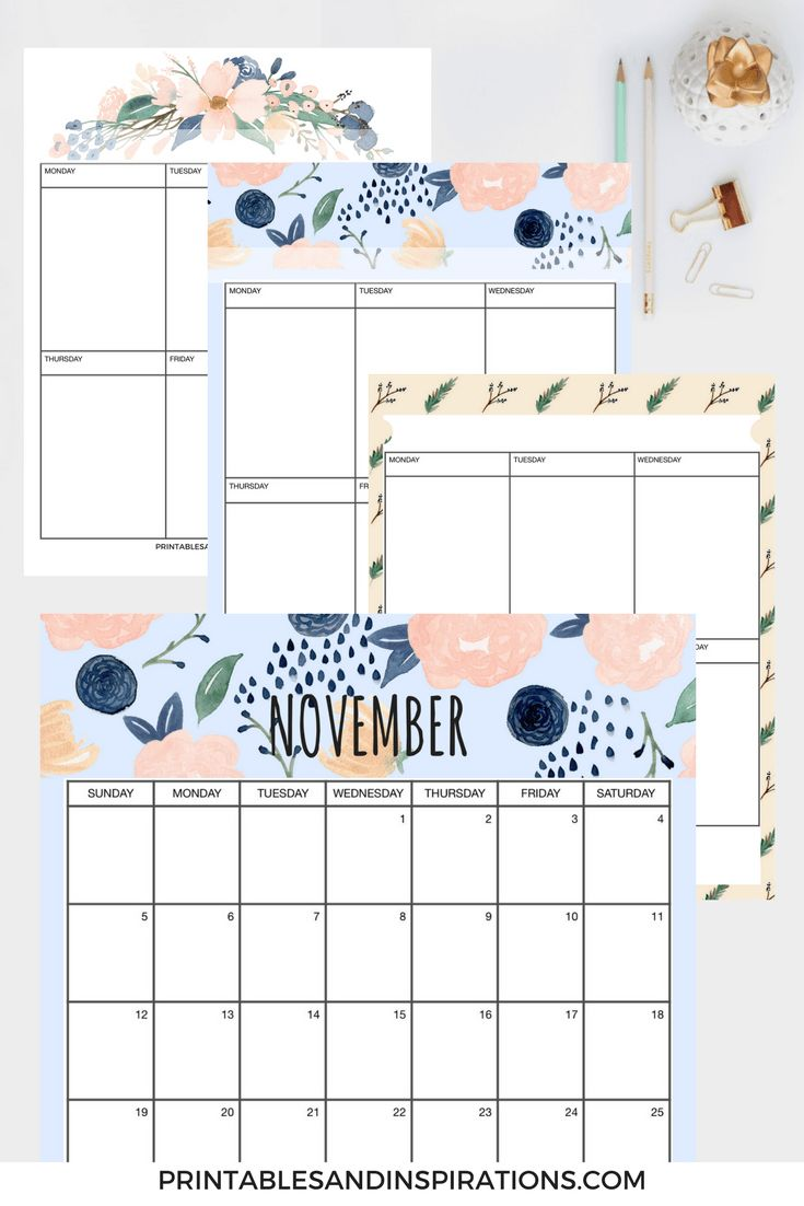 23 best Printable Calendars, Planners & To Do Lists - 2016 ...
