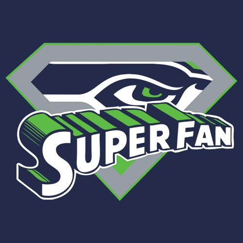 Super Fan - Seattle Seahawks Football T Shirt