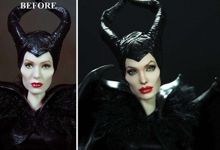 repainted maleficent and prince - photo #3