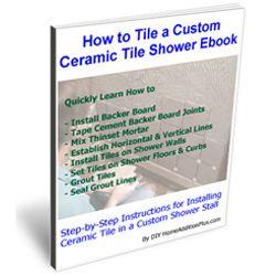 tiling shower base instructions