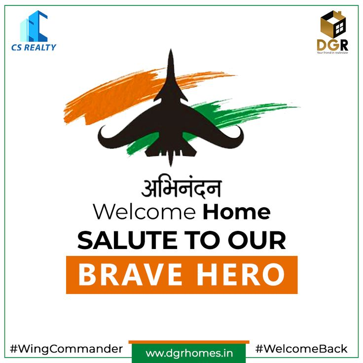 Welcome back, Abhinandan Varthaman! Indian Air Force Hero – Occassion