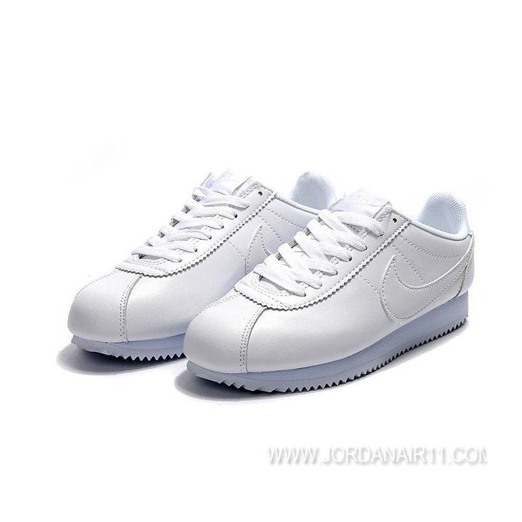 大特価! ナイキ クラシック コルテッツ レザー Nike Cortez Classic Leather 807471-102 White / White WMNS/MENS ホワイト/ホワイト レディース/メンズ ランニングシューズ