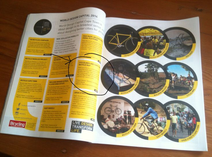 WDC2014 project feature in Bicycling Mag