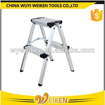 aluminum work bench folding step ladder stool