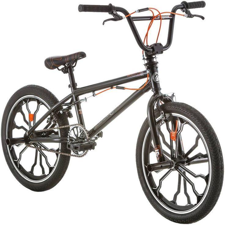 "Boys BMX Bike 20"" Mongoose Freestyle Bicycle Pegs Tricks Black New Free Shipping #Mongoose"