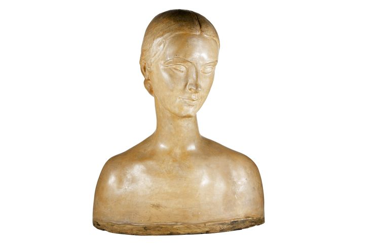 Ercole Drei (1886 - 1973), Wally Toscanini, busto in terracotta. Anni 30