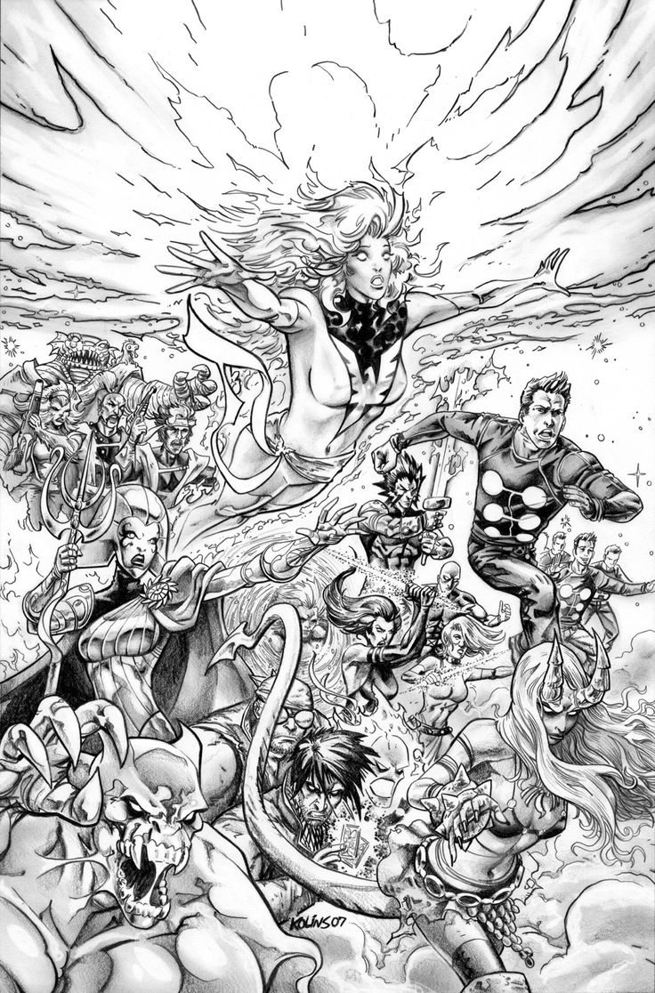 Xmen Familiy War Coloring Pages x men coloring Marvel