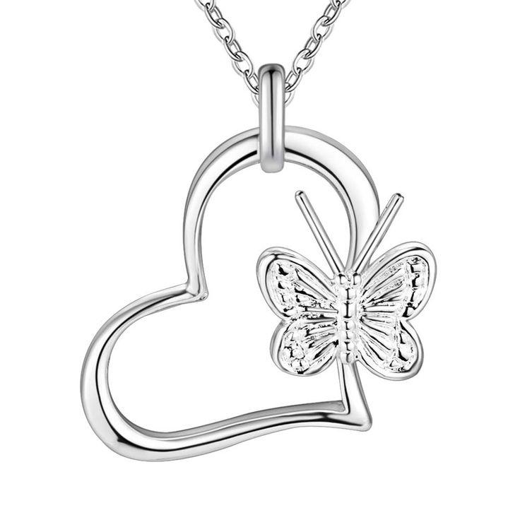 Красивые блестящие симпатичные посеребренная Ожерелье Новый Продажи серебряные ожерелья и кулоны/FZRTKKGX…