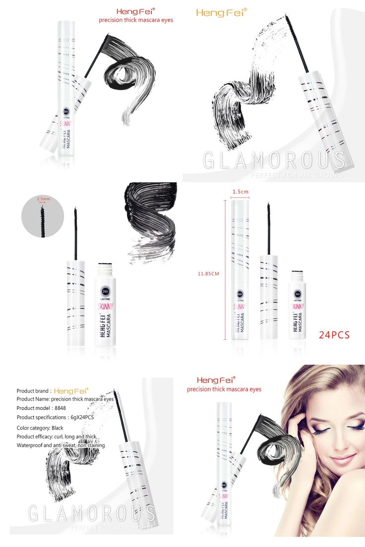 [Visit to Buy] Top Best Waterproof Eye Mascara Makeup Lengthening Volume Curling Fast Dry Mascara Cosmetics #Advertisement