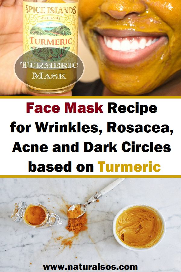 Face Mask Recipe for Wrinkles, Rosacea, Acne and Dark ...