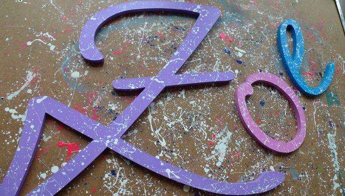 Buchstaben & Schriftzüge - Holzbuchstaben - ein Designerstück von abc_ABC bei DaWanda