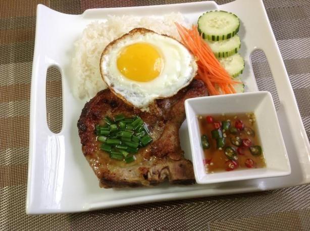Vietnamese Pork Chop. Photo by Kelseytran