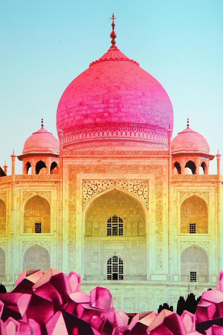 Rainbow Taj Mahal
