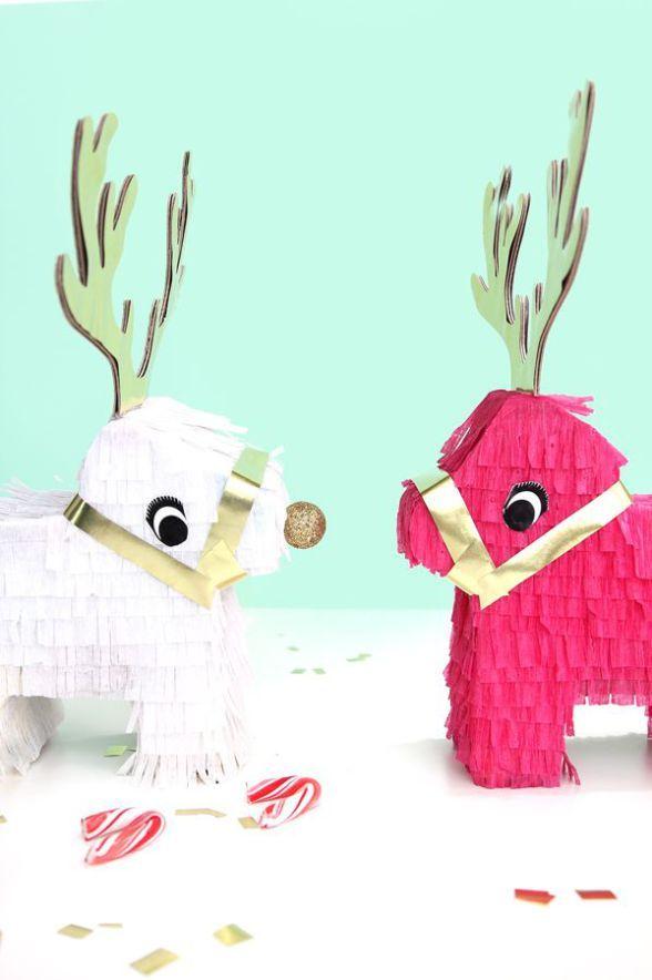 Ideas for a lighter alternative for #Christmas decor, especially nice when…