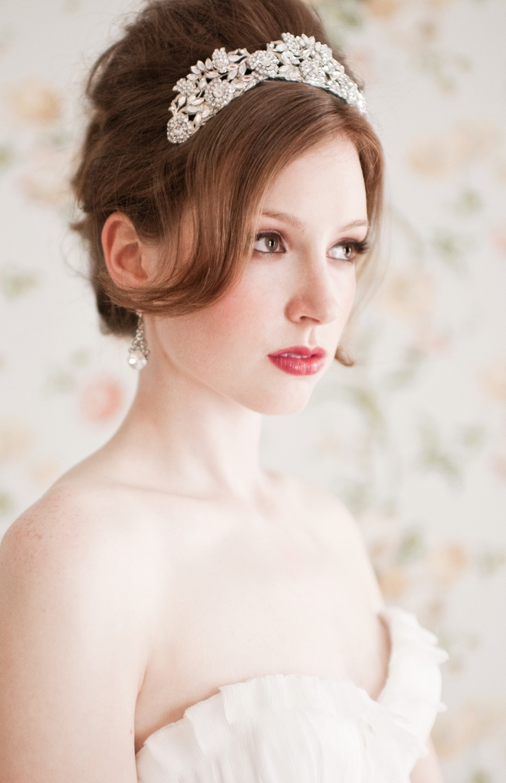 Bridal tiaras and veils - Find This Pin And More On Wedding Tiaras And Veils