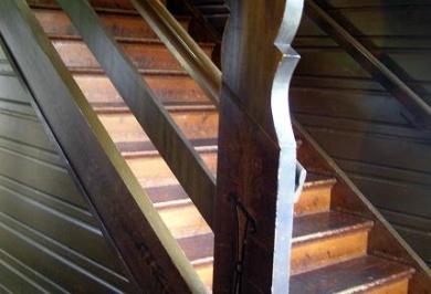 #Kvikkjokk Fjällstation, #Stairs