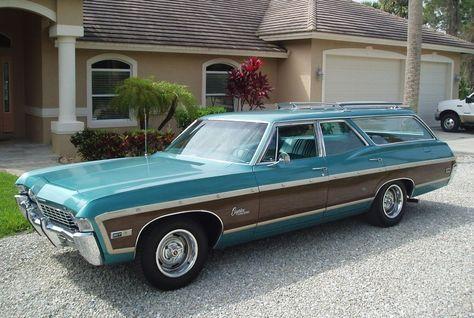 Turquoise Gem: 1968 Chevrolet Caprice Wagon Survivor - http://barnfinds.com/turquoise-gem-1968-chevrolet-caprice-wagon-survivor/