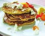 Savory Spinach, Tomato and Goat Cheese Pancakes Recipe | LIVESTRONG.COM