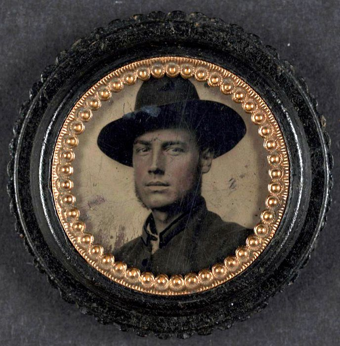 Unidentified Civil War soldier, mid 1860's  Submitted by charles116 - What an incredibly good looking young man.