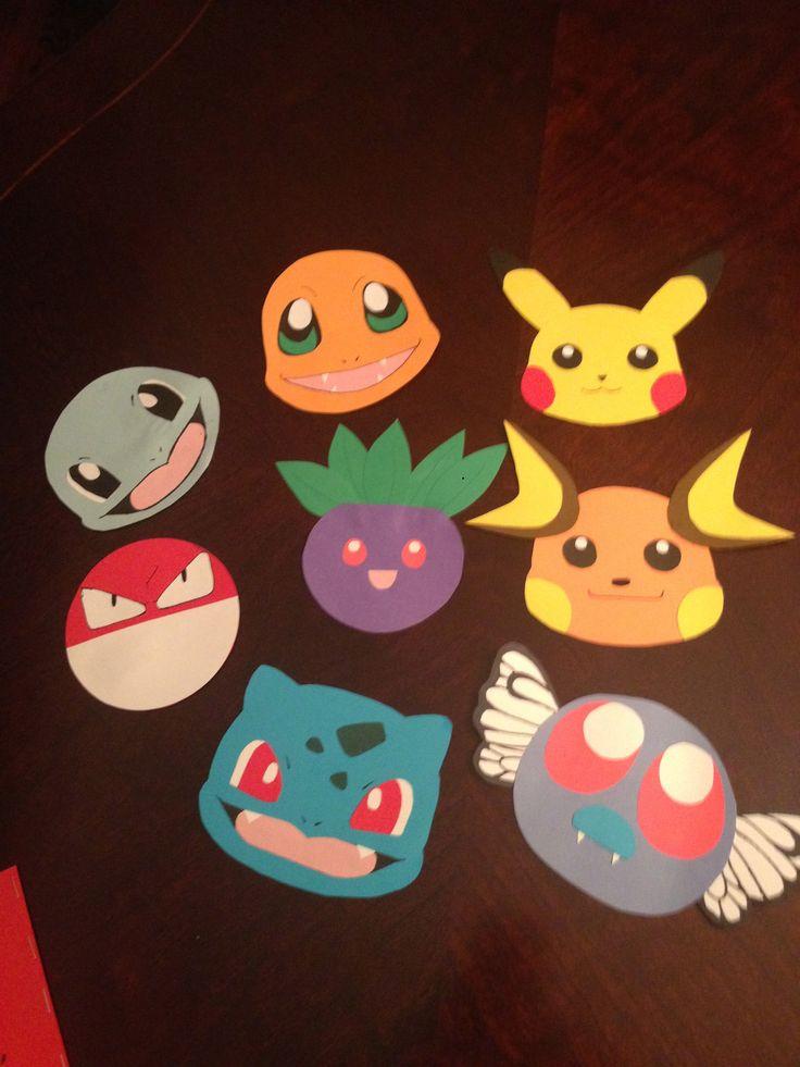 pokemon door decs I made for my residents :) part 1