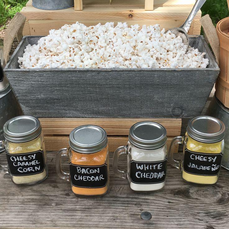 How To Make  A Killer DIY Popcorn Bar via @kernelseasons