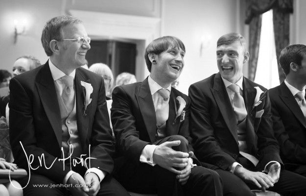 Groomsmen. Wedding Photography. Relaxed. Black and White.