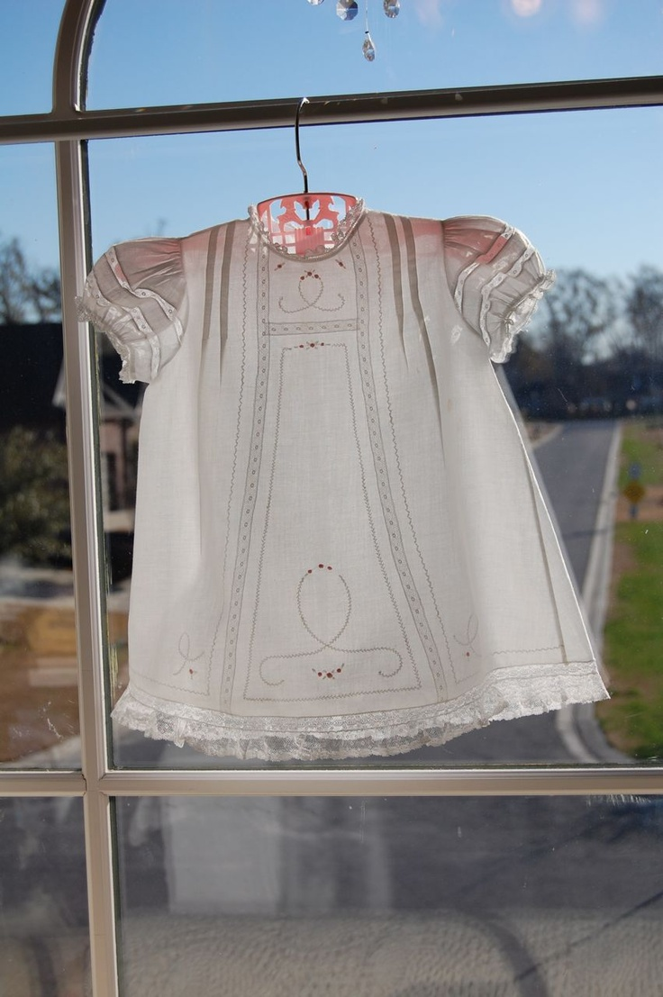 The Old Fashioned Baby Sewing Room: Teaching in Dothan Alabama - Baby Daydress
