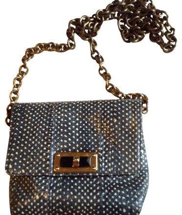 f27aeb36c389 Lanvin Happy Mini Pop Blue and Cream Python Skin Leather Cross Body Bag.  Get the trendiest Cross Body Bag of the season! The Lanvin Happy Mini Pop  Blue and ...