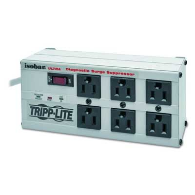 Tripp Lite Isobar 6 Outlet Surge Protector Strip