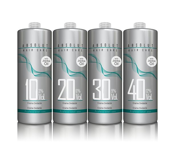 New Line Absolut Hair Care. Design of the identity, visual communication, packaging. It's a Professional Line for hairdressers.