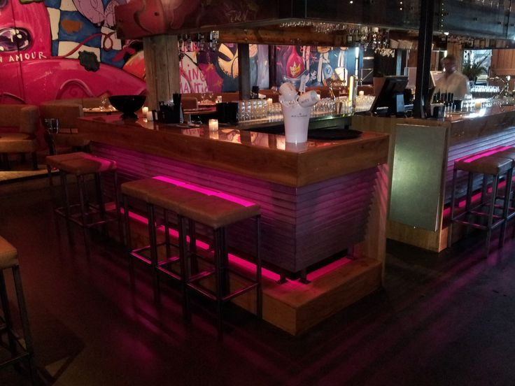 All Over Transparent Liquid Gloss For Bar Harbour Club Amsterdam #design # Interior #epoxy