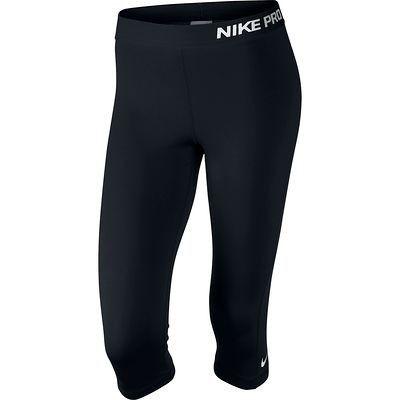 Pantaloni Abbigliamento fitness,Danza - Corsari donna PRO neri NIKE - Abbigliamento Palestra