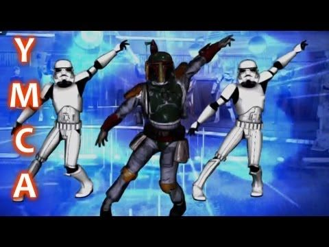 Star Wars YMCA - played this in class today and I have never seen so many boys dancing!